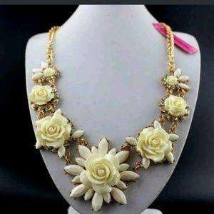 New Betesy Johnson rose necklace